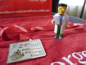 dr nick melbourne marathon