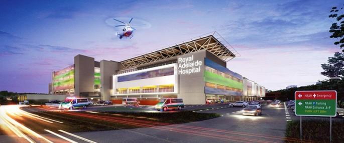 nRAH New Royal Adelaide Hospital